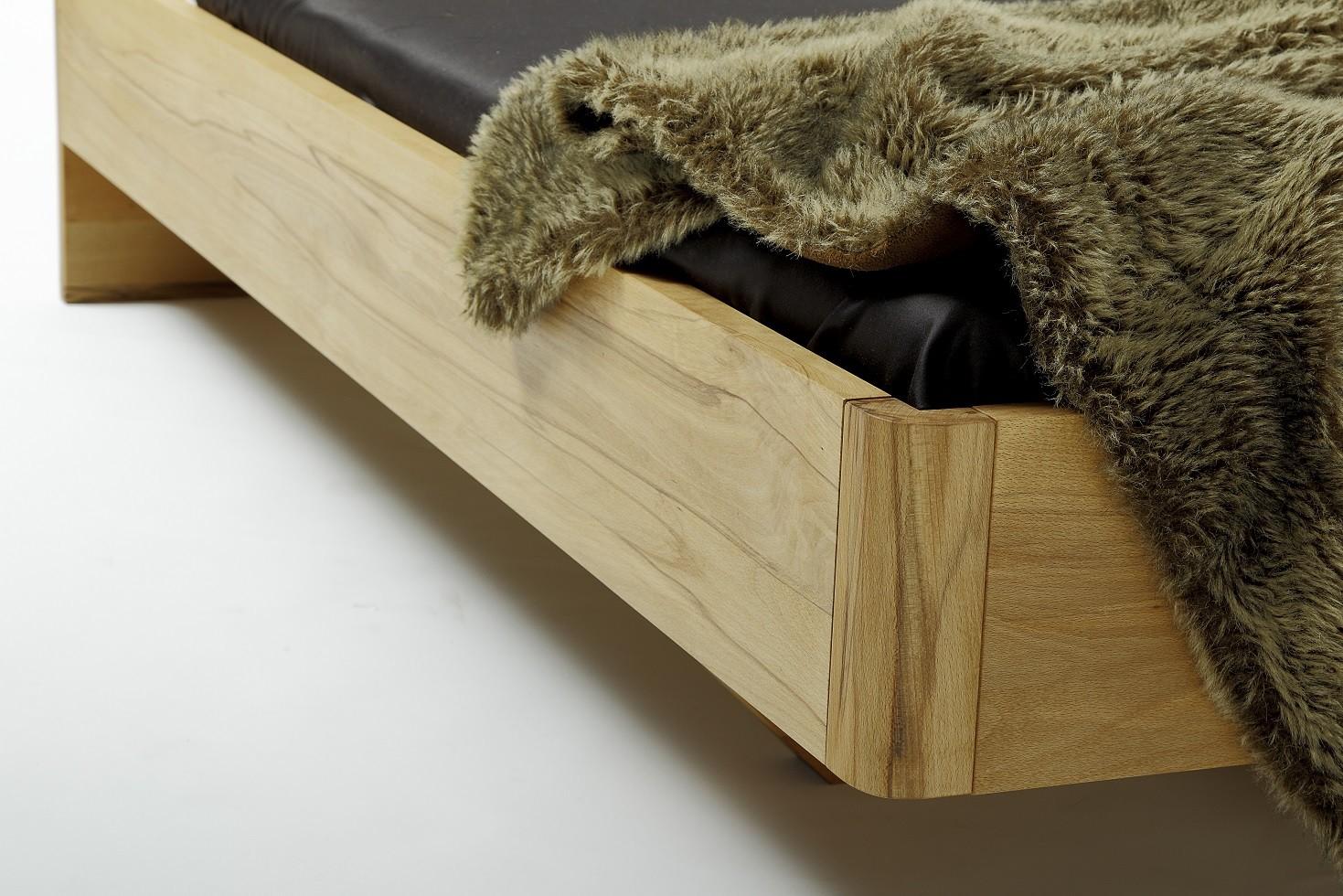 Houten ledikant bed amsterdam beuken hout