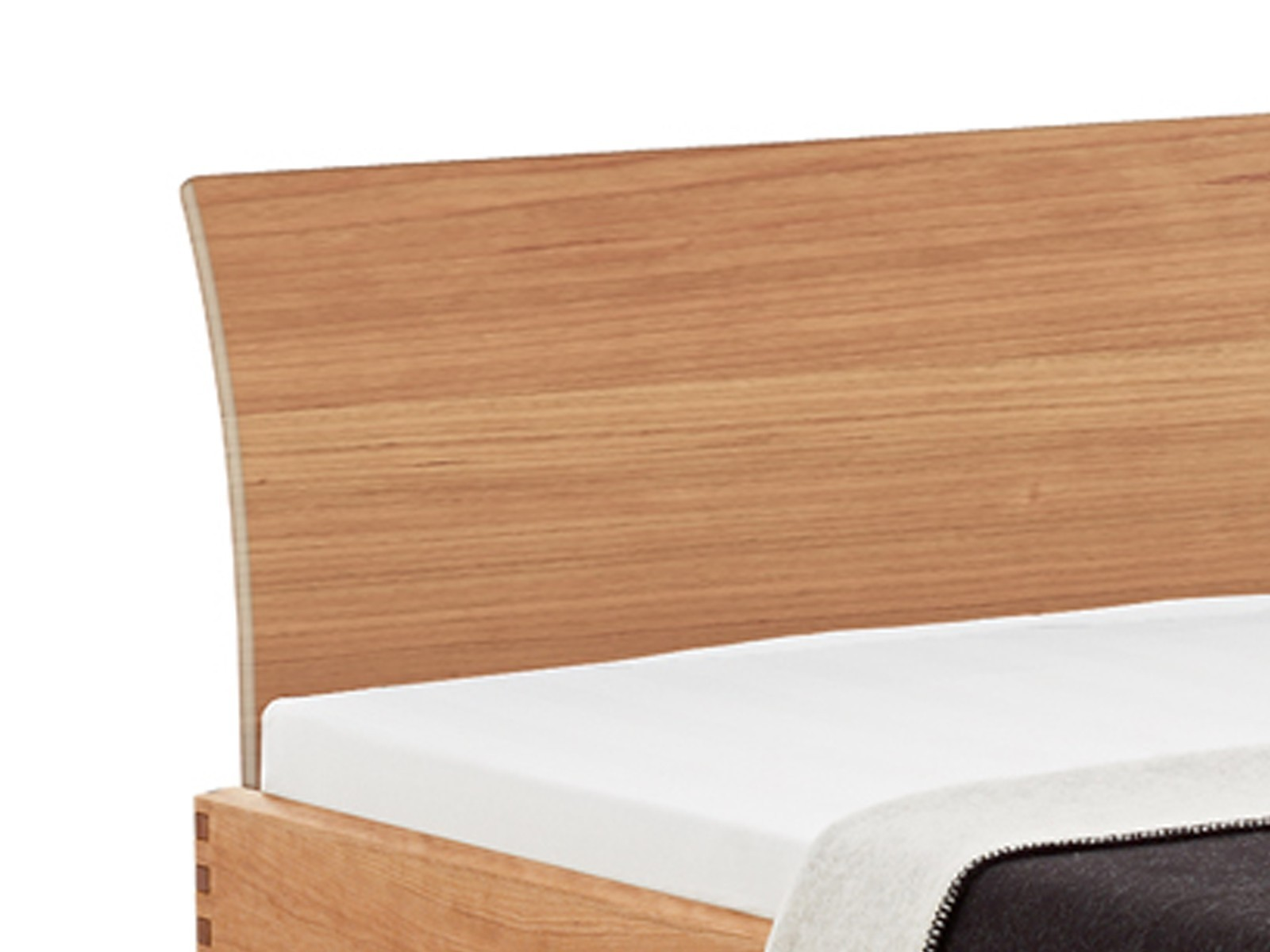 Houten bed met laden x step