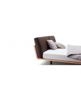 Massief houten design bed Swinq