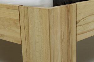 Massief houten bed Mika met hoofdbord