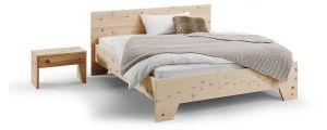 Alpenden hout bed Sense metaalvrij