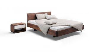 Design nachtkastje COM:CI massief hout met 1 lade Holzmanufaktur