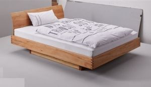 Houten bed met laden X-Step