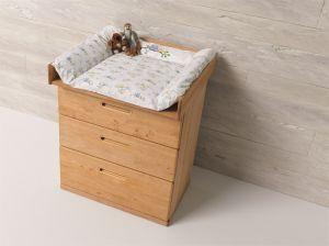 Houten commode baby ecologische babykamer TEAM 7