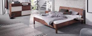 Houten ledikant BASIC massief hout bedframe Holzmanufaktur