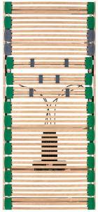 Lattenbodem elektrisch verstelbaar Lordosis 45 lats beukenhout Dormiente