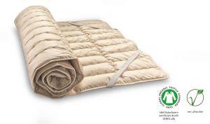 Matras oplegger ledikant katoen / linnen 500 gr m2 wasbaar