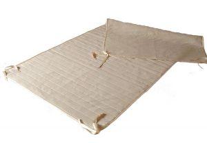 Matrasbeschermer lattenbodem - matrasonderlegger ledikant