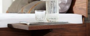 Nachtkastje plank UNI bedplankje massief hout Holzmanufaktur