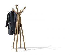 TEAM 7 design kapstok HOOD hout staand