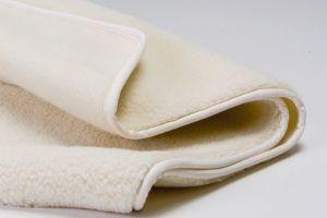 Wiegdeken / ledikant deken wollen 100% merino wol bio Prolana