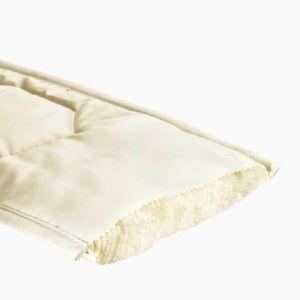 Wilde zijde matrastopper koel tussah zijden onderdeken