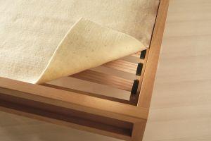 Wollen matrasonderlegger matrasbeschermer lattenbodem wol Prolana
