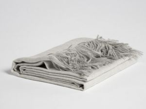 alpaca plaid soft grey