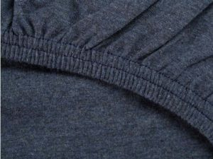 hoeslaken jersey indigo blue