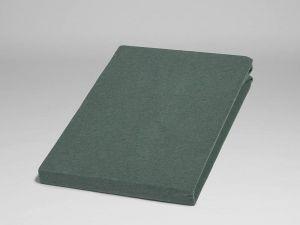 Yumeko jersey hoeslaken PINE GREEN biologisch katoen