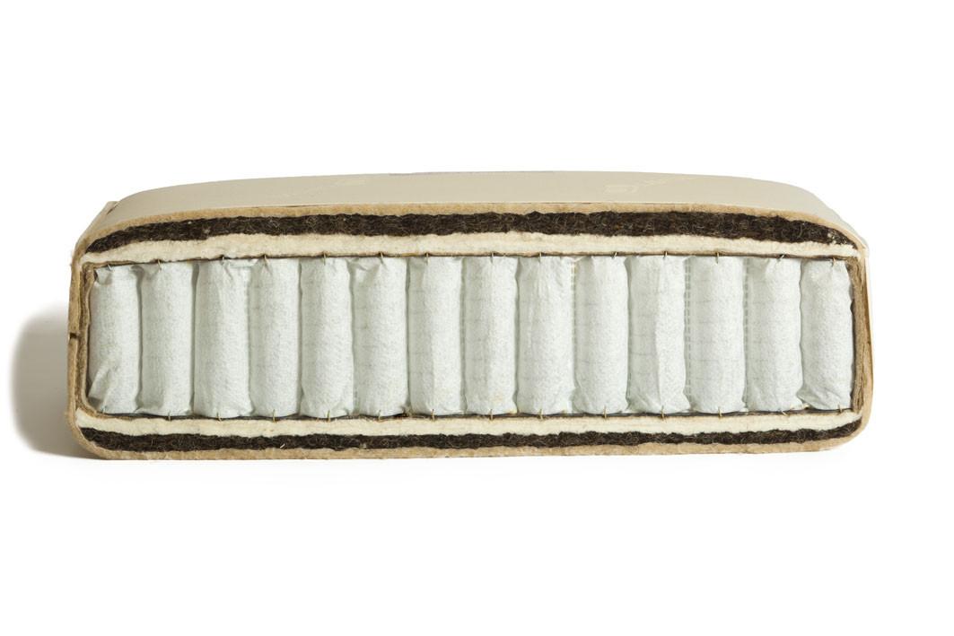 Pocketveer matras Grand met kameelhaar