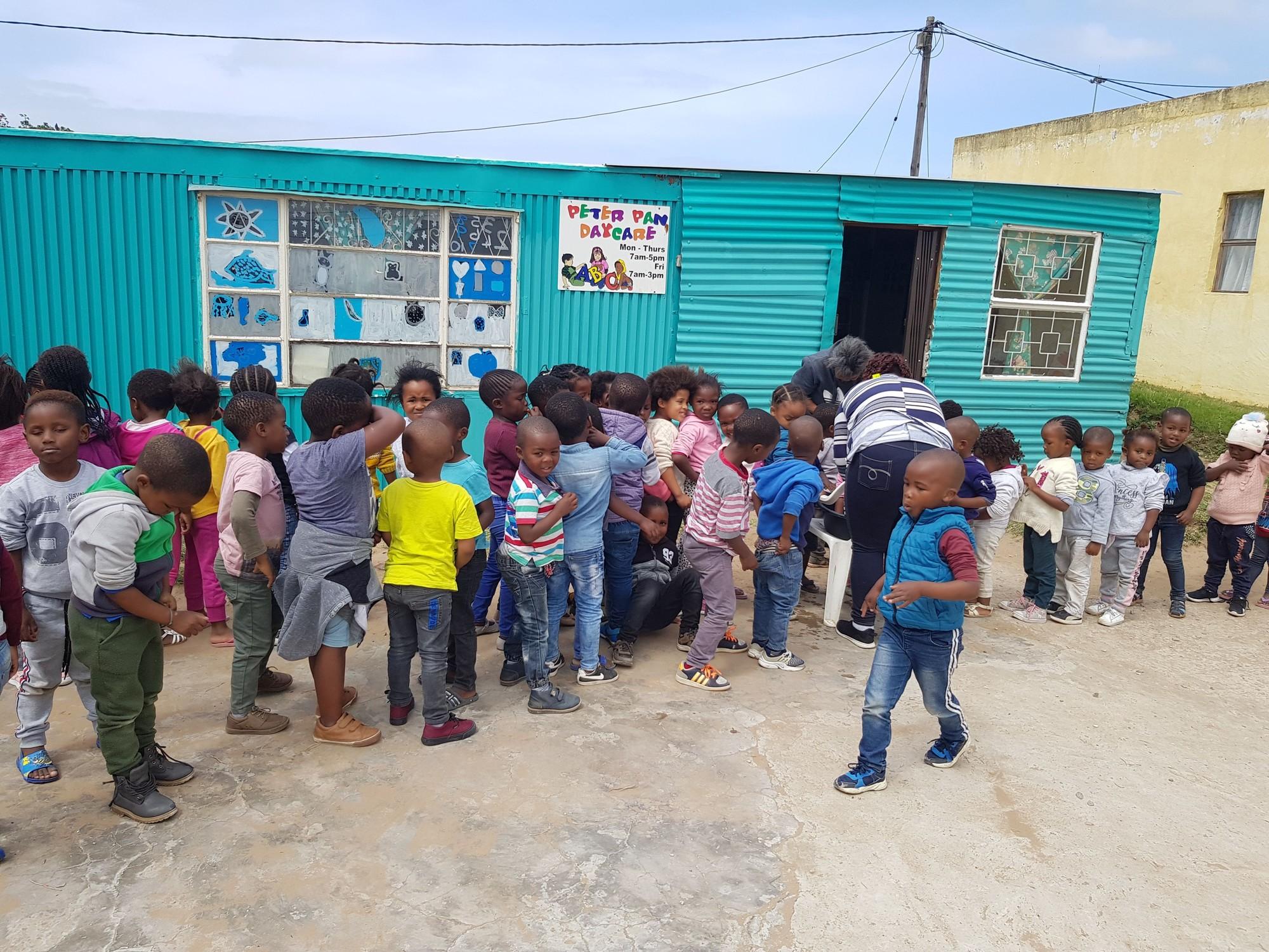 Peter Pan kinderdagopvang in sloppenwijk