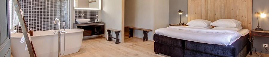 Probeer een Bedaffair of Skoon bed uit in een hotel of B&B