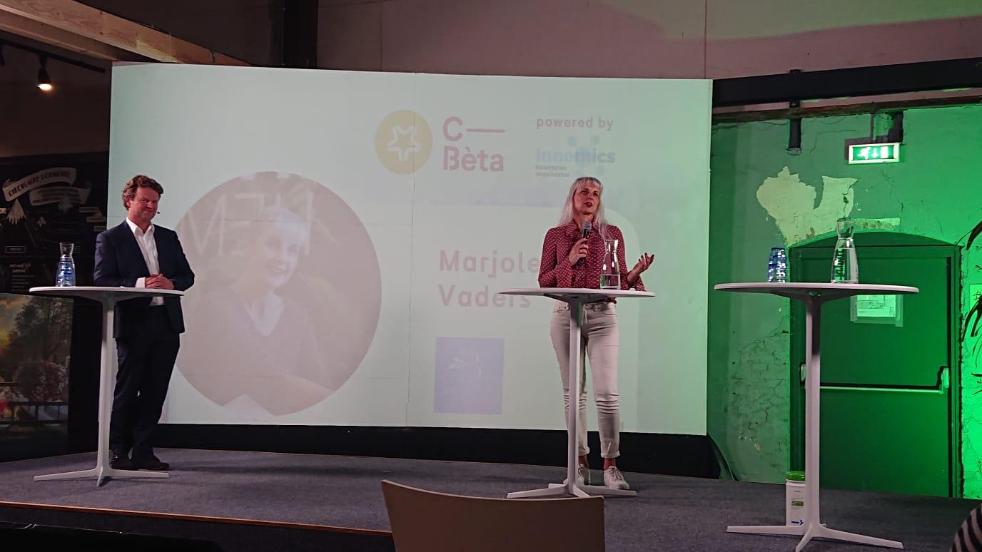 CEO en co-founder van Bedaffair Marjolein Vaders